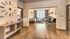 Beautiful, luxurious, fully furnished 2-bedroom apartment with small balcony in the center of Prague 1, Konviktská street
